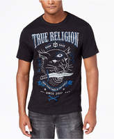 True Religion Men's Caged Panther Logo-Print T-Shirt