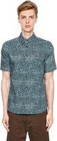 Marni Dot Printed Cotton Poplin Shirt