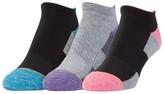 All Pro® Women's 3-Pack Wool Blend No Show Socks