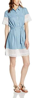 French Connection Women's Holiday Lace Ss Shirt Dress(Size:X-Small)