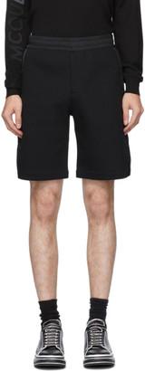 Alexander McQueen Black Graffiti Hybrid Shorts