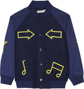 Stella McCartney Ed wool bomber jacket 4-14 years