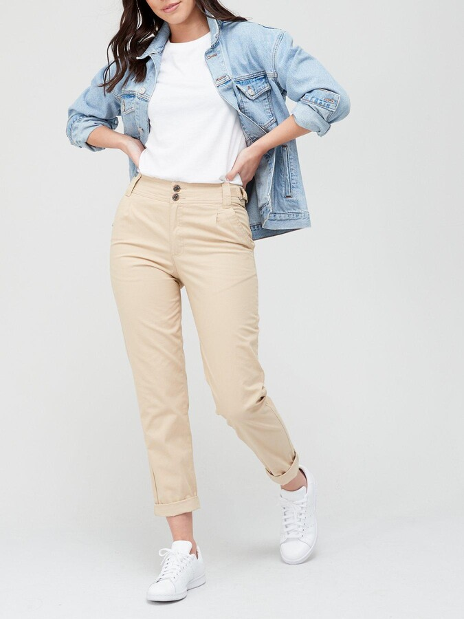 Thumbnail for your product : Very Girlfriend Chino Trouser - Stone