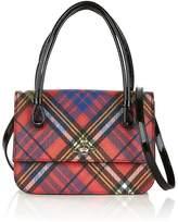 VIVIENNE WESTWOOD Edinburgh Small Handbag- Red Multi