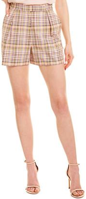 Carolina Herrera Silk-Lined Short