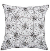 Ted Baker Beaded Geometric Linen & Cotton Square Pillow
