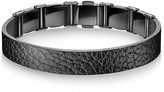 Calvin Klein Collection Grain Calf Strap Bracelet