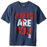 The Original Retro Brand Kids - The Who Who Are You Short Sleeve Heathered Tee Boy's T Shirt