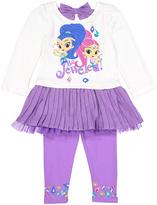 Children's Apparel Network Purple Shimmer & Shine 'Be Jeweled' Tee & Leggings - Toddler