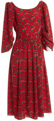 The Vampire's Wife Red Polyester Dresses