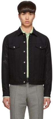 Paul Smith Black Wool Casual Jacket