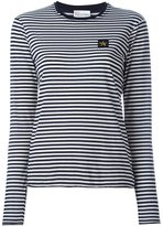 RED Valentino longsleeved striped T-shirt