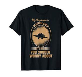 IDEA Stegosaurus Harmless Animal Lover Gift T-Shirt