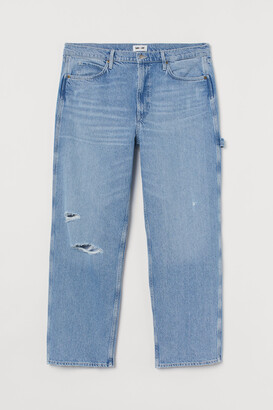 H&M H&M+ Slouch Straight Jeans