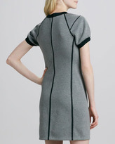 Theory Nevasa Outlined Ponte Dress
