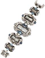 Swarovski Lanvin Cristaux Deco Large Bracelet - Blue Shade