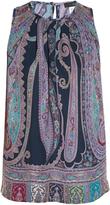 Etro Paisley-print sleeveless top