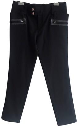 Limi Feu Black Wool Trousers for Women
