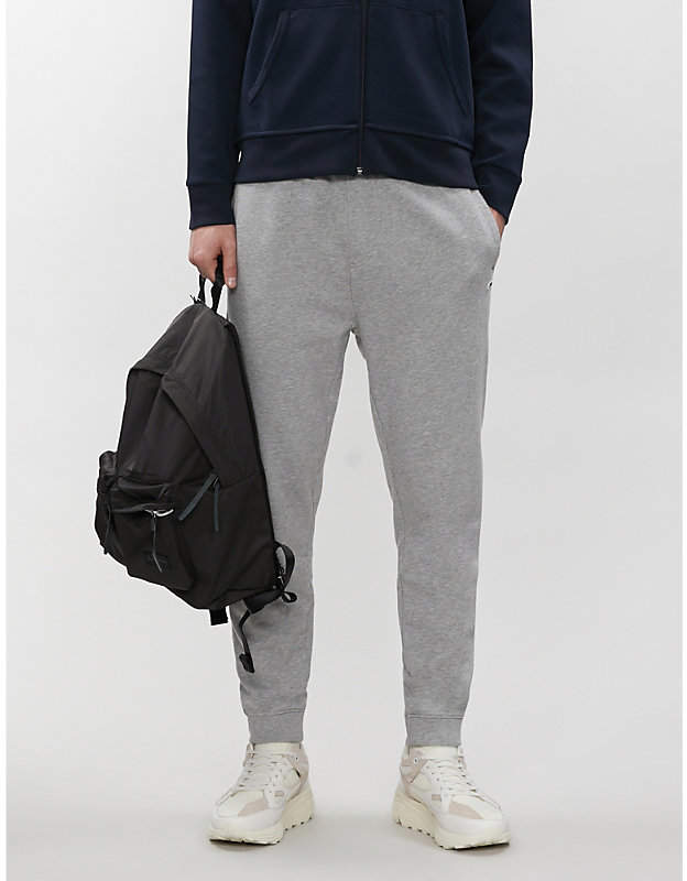 Tommy Jeans Relaxed-fit cotton-jersey jogging bottoms