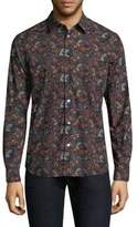 Paul Smith All Over 1974 Print Button-Down Shirt