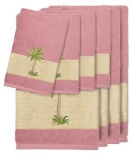 Linum Home Turkish Cotton Colton 8-Pc. Embellished Towel Set Bedding