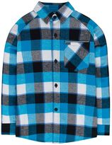 Hurley Boys 4-7 Plaid Button-Down Flannel Shirt