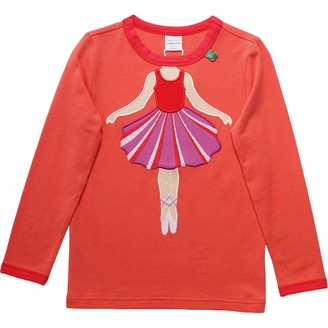 Green Cotton Fred's World by Girl's Hello Ballet T T-Shirt