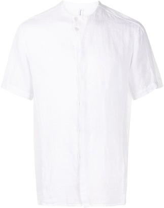 Transit Collarless Short-Sleeved Shirt