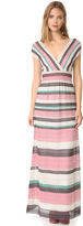 M Missoni V Neck Gown