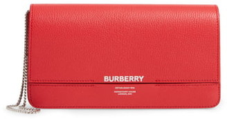 Burberry Grace Leather Clutch