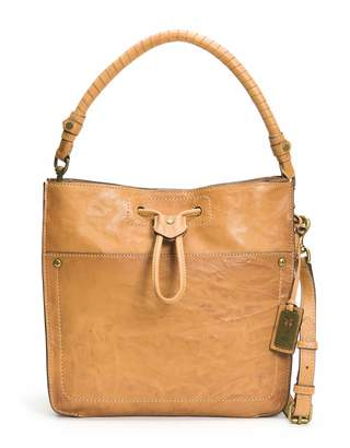 Frye Demi Drawstring Leather Hobo