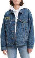 Levi's Star Wars x May The Force Be With You Dad Trucker Jacket