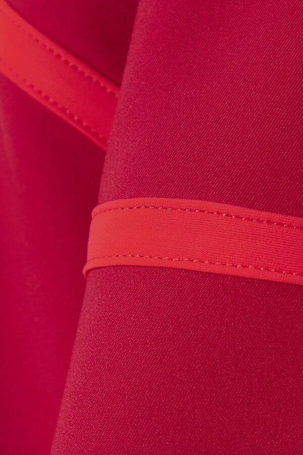 Thumbnail for your product : Ernest Leoty Corset Paneled Stretch Leggings - Burgundy
