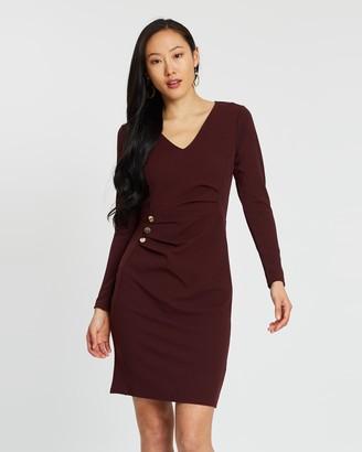 Dorothy Perkins Button Detail Bodycon Dress
