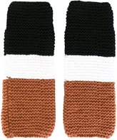 Telfar fingerless gloves