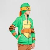 Teenage Mutant Ninja Turtles Boys' TMNT Michelangelo Hooded Sweatshirt Green