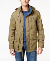 Andrew Marc Men's Big & Tall Detachable-Hood Full-Zip Field Jacket