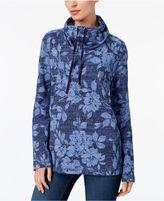 Karen Scott Funnel-Neck Active Sweatshirt, Created for Macy's