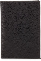 Neiman Marcus Pebbled Faux-Leather Passport Case