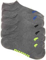 Puma Men's Invisible No Show Socks - 6 Pack