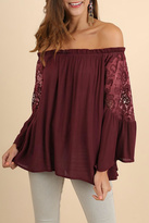 Umgee USA Crochet Bell Sleeves