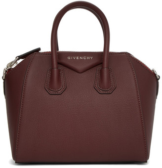 Givenchy Purple Mini Antigona Bag