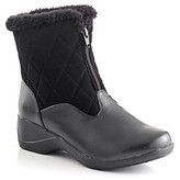 """Bass Nica"""" Cold Weather Ankle Boots - Black"""