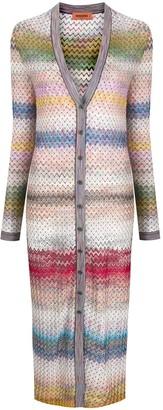 Missoni Zigzag Cardigan Coat