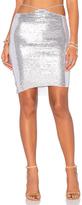 Indah Bridgette Sequined Mini Skirt