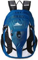 High Sierra Blue & White Aggro Laptop Backpack