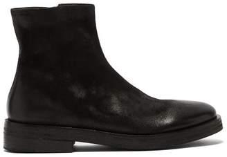 Marsèll Listone Suede Chelsea Boots - Mens - Black