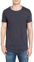 Scotch & Soda Men's Curved Hem Pocket T-Shirt