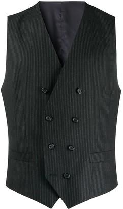 Dolce & Gabbana Pinstripe Double-Breasted Waistcoat