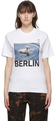 032c White Die Todliche Doris Edition Ducky II T-Shirt